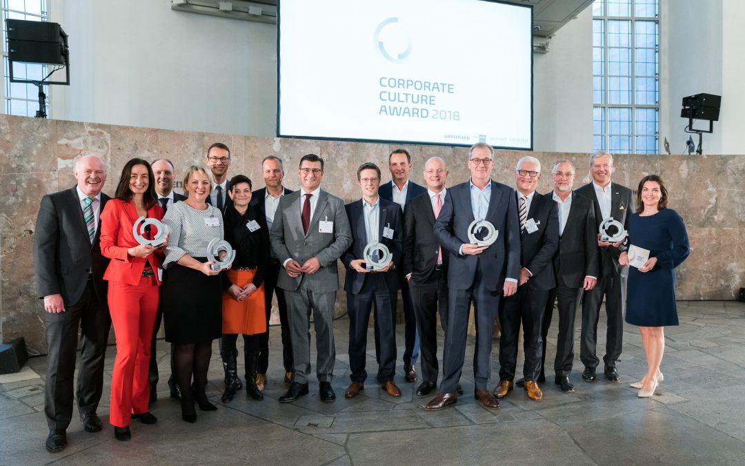"Erfolgreicher Auftakt des ""Corporate Culture Awards"""