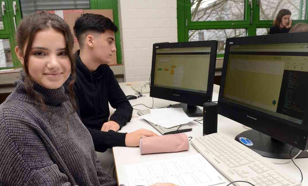 Benrather Schüler*Innen erkunden Künstliche Intelligenz