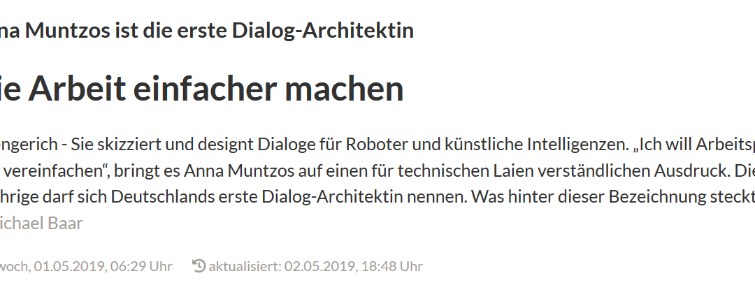 deep white Dialog-Architektin Anna im Interview
