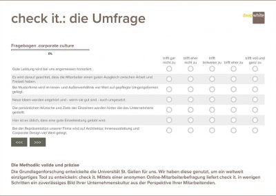 check it.: die Umfrage
