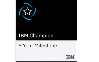 Five-times in a row: Stephan Multhaupt erneut als IBM Champion for Analytics ausgezeichnet
