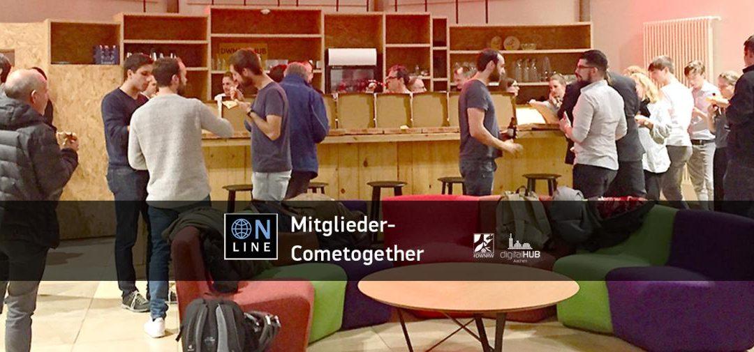 deep white mit Impulsvortrag zu Conversational AI beim Mitglieder ComeTogether des digitalHUB Aachen